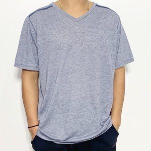 Nike Breathable Tee Short Sleeve V Neck Tshirt